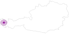 Unterkunft Alpengasthof Bad Rothenbrunnen in der Alpenregion Bludenz: Position auf der Karte