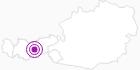 Unterkunft Gullenhütte in Stubai: Position auf der Karte