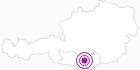 Unterkunft Hotel Garni Thaller in der Erlebnisregion Hochosterwitz - Kärntenmitte: Position auf der Karte