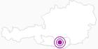 Unterkunft Gasthof-Pension Haberl in der Erlebnisregion Hochosterwitz - Kärntenmitte: Position auf der Karte