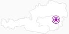 Unterkunft Landgasthof und Langlaufzentrum Orthofer in der Oststeiermark: Position auf der Karte