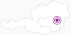 Unterkunft Gasthof Pension Roseggerhof in der Oststeiermark: Position auf der Karte