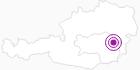 Unterkunft Pension Krückl in der Oststeiermark: Position auf der Karte