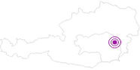 Unterkunft Sonnenhaus Fößl in der Oststeiermark: Position auf der Karte
