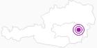 Unterkunft Gasthof Hirzabauer in der Oststeiermark: Position auf der Karte