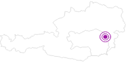 Unterkunft Berggasthof Schwengerer in der Oststeiermark: Position auf der Karte