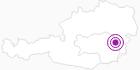 Unterkunft Pension - Kaufhaus Lechner in der Oststeiermark: Position auf der Karte