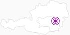Unterkunft Ferienwohnung Almblick in der Oststeiermark: Position auf der Karte