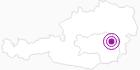 Unterkunft Bauernhof Glatzhofer in der Oststeiermark: Position auf der Karte