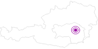 Unterkunft Bio-Blockhütte Gissing im Thermenland Steiermark: Position auf der Karte