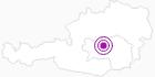 Unterkunft Gasthof Leitner in der Alpenregion Nationalpark Gesäuse: Position auf der Karte