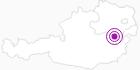 Unterkunft Villa Daheim in den Wiener Alpen in Niederösterreich: Position auf der Karte