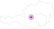 Unterkunft Gästehaus Pehab in Schladming-Dachstein: Position auf der Karte