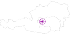 Accommodation Gasthof zur Gams in Schladming-Dachstein: Position on map