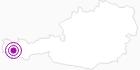 Unterkunft Stubiger Hof am Arlberg: Position auf der Karte