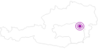 Unterkunft s´Platzl in der Hochsteiermark: Position auf der Karte