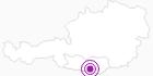 Unterkunft Almhof in Klagenfurt: Position auf der Karte