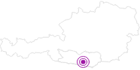 Unterkunft Ferienwohnungen Eveline in Klagenfurt: Position auf der Karte