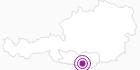 Unterkunft Kusternighof in Klagenfurt: Position auf der Karte