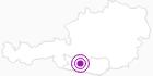 Accommodation Aktiv-Hotel Moserhof at the Lake Millstatt: Position on map