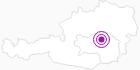 Unterkunft Gasthof zur Post in der Hochsteiermark: Position auf der Karte