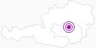 Unterkunft Ferienwohnung Haus Pichler in der Hochsteiermark: Position auf der Karte