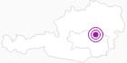 Unterkunft Gasthaus Ägydi in der Hochsteiermark: Position auf der Karte