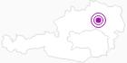 Unterkunft Gasthof Marktwirt in der Hochsteiermark: Position auf der Karte