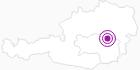 Unterkunft Gasthof Pretalhof in der Hochsteiermark: Position auf der Karte