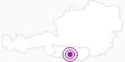 Unterkunft Ferienhaus Peters-Berg-Huabn in Villach-Warmbad / Faaker See / Ossiacher See: Position auf der Karte