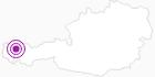 Unterkunft Westegghütte im Kleinwalsertal: Position auf der Karte