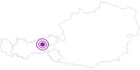 Unterkunft Chalet ASTERHÄUSL mit Sauna & Hot Pot im Zillertal: Position auf der Karte