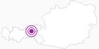 Unterkunft Zillertaler Sennhütte im Zillertal: Position auf der Karte