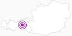 Unterkunft Ferienhütte Georg im Zillertal: Position auf der Karte