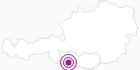 Unterkunft FeWos Berger in Nassfeld-Pressegger See - Lesachtal - Weissensee: Position auf der Karte