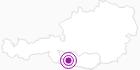 Unterkunft Erlebnishof Tschabitscher-Zimmer in Nassfeld-Pressegger See - Lesachtal - Weissensee: Position auf der Karte
