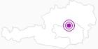 Unterkunft Ferienwohnung Irene in der Hochsteiermark: Position auf der Karte