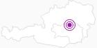 Unterkunft Ferienhaus Wagner in der Hochsteiermark: Position auf der Karte