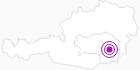 Unterkunft Landhaus Adlmann in Region Graz: Position auf der Karte