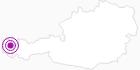 Unterkunft Landhaus Greber im Bregenzerwald: Position auf der Karte