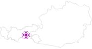 Unterkunft Hotel Alpenbad Hohenhaus im Zillertal: Position auf der Karte