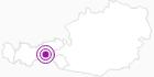 Unterkunft Alpendorf Anno Dazumal im Zillertal: Position auf der Karte