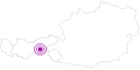Unterkunft Frühstückspension Brandhof im Zillertal: Position auf der Karte