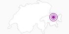 Unterkunft Hotel National***superior in Davos Klosters: Position auf der Karte