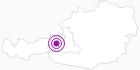 Webcam Hinterglemm Tal in Saalbach-Hinterglemm: Position auf der Karte