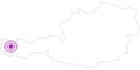 Unterkunft Haus Rothorn am Arlberg: Position auf der Karte