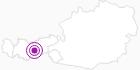 Accommodation Haus Vallazza in Stubai: Position on map