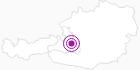 Accommodation Appartementhaus Kuchelberg Salzburg's world of sport: Position on map