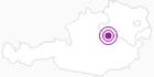 Unterkunft Hintereck im Mostviertel: Position auf der Karte