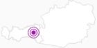 Unterkunft Skihütte Silberleiten im Zillertal: Position auf der Karte
